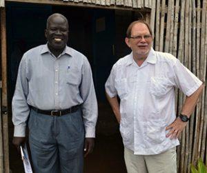 Michael Obang and Chris Ferguson