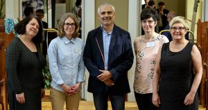 New Steering Committee: Jacobine, Jenny, Dimitris, Kerstin and Martina