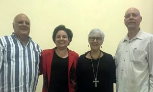 Najla and Cuban church leaders