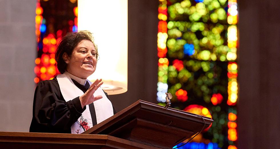 Najla Preaching
